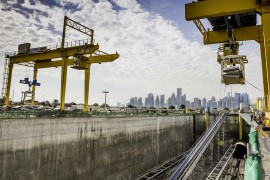 MSD Cradle on Construction of Doha Metro